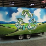 caerphilly-waste-management-trailer